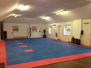 Our training dojo facility