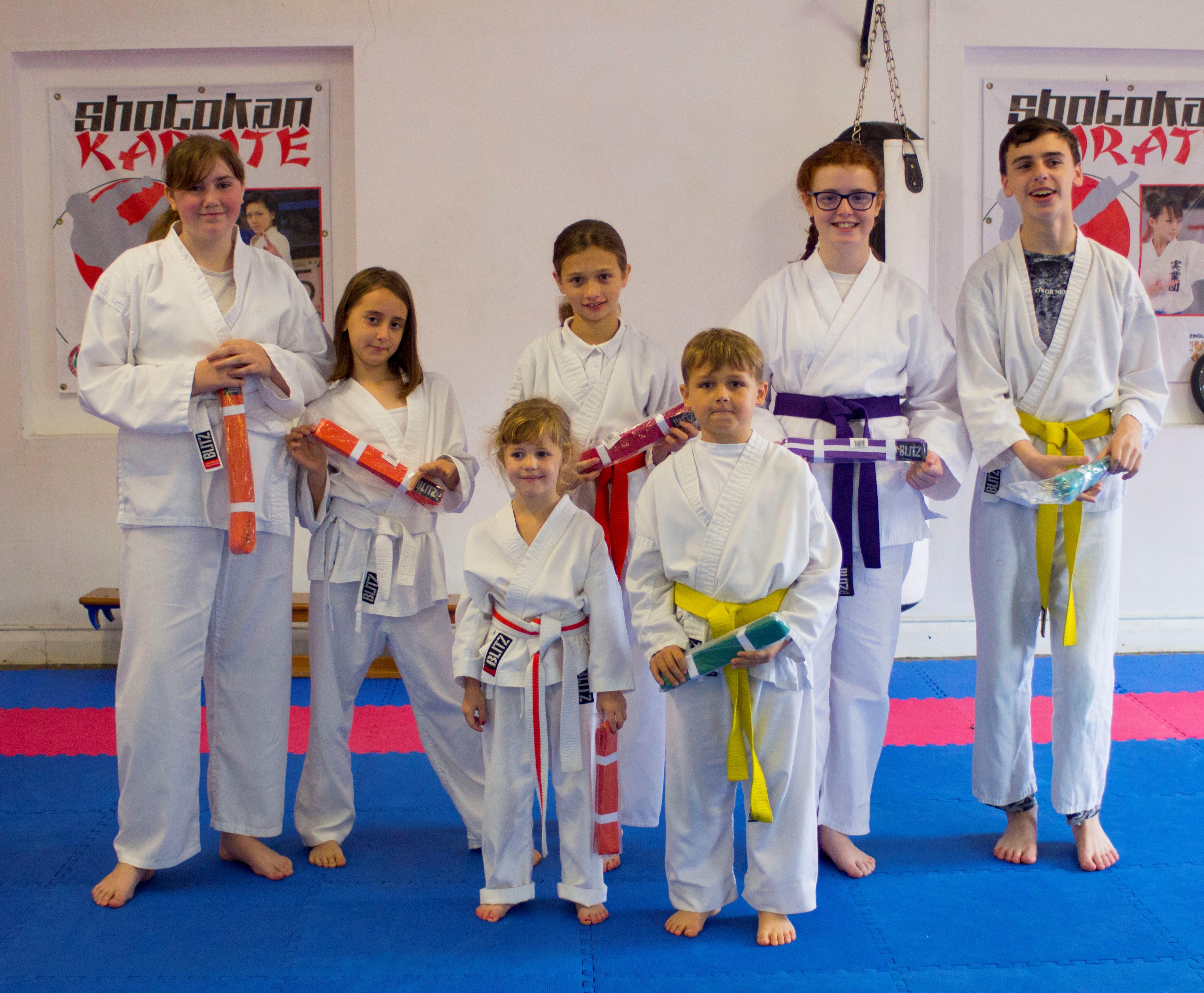 Karate Ka Grading photograph